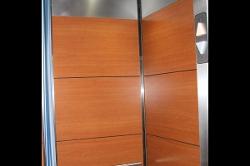 Open Metal Elevator Door