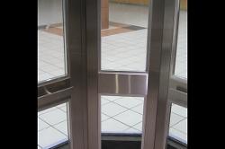 Windowed Elevator Door Corner