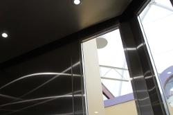 Windowed Elevator Ceiling 1