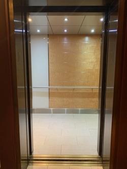 Interior - Open Elevator Door