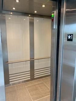 Interior Elevator - Floor Number