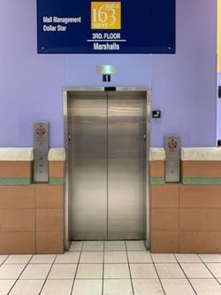 Marshalls Elevator Door