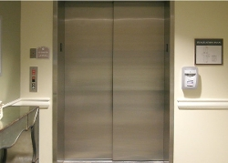 Thumbnail: Metal Elevator Door